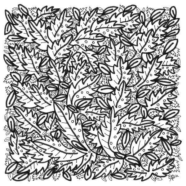 Bladeren van ART Eva Maria