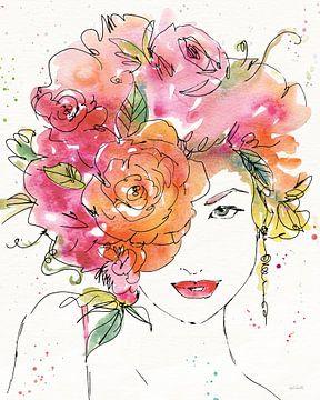 Floral Figuren IV, Anne Tavoletti von Wild Apple