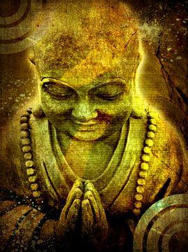 Buddha 2 van Erik-Jan ten Brinke