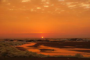 Sunset at Sea van Dirk van Egmond