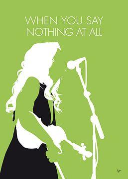 No276 MY Alison Krauss Minimal Music poster van Chungkong Art