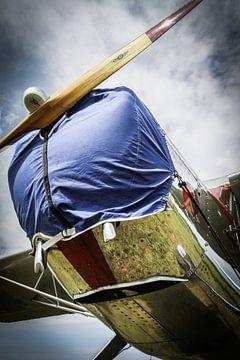 Proppellorvliegtuig van Jasper Scheffers