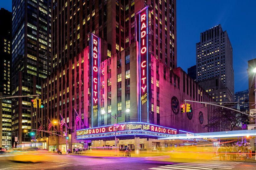 New York    Radio City Musik Hall van Kurt Krause