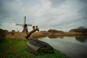 Keppelsche Wassermühle von Arnold van Rooij