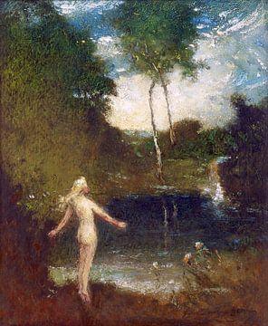 Der Taucher, Elliott Daingerfield - 1908-1915 von Atelier Liesjes