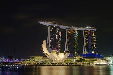 Marina Bay Sands 1 von Martin de Hoog