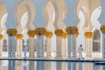 Scheich Zayed-Moschee von Ko Hoogesteger