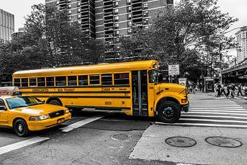 New York Schoolbus van John Sassen