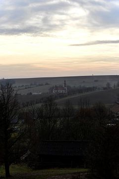 Kirche in den Bergen von Marcel Ethner