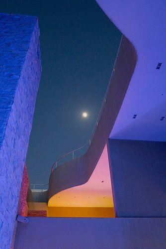 De maan van de Emiraten van