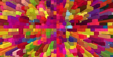 Blokken II van Marion Tenbergen