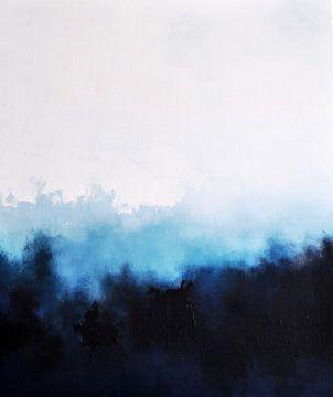 White Landscape 2 von Maria Kitano