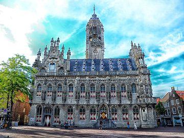 Stadhuis van Middelburg van Jessica Berendsen