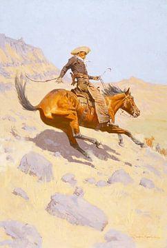 Der Cowboy, 1902 von Atelier Liesjes