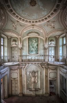 Verlassene Villa Mint Italien von Kelly van den Brande