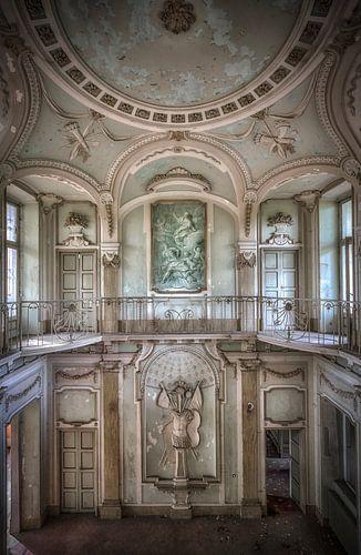 Verlaten Villa Mint Italie van Kelly van den Brande