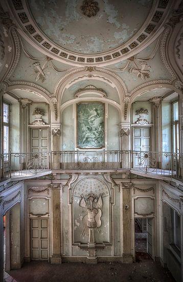 Verlaten Villa Mint Italie