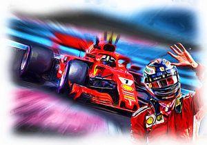 Kimi's last race in Red