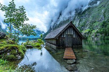 Huisje Obersee, Duitsland van Bob Slagter