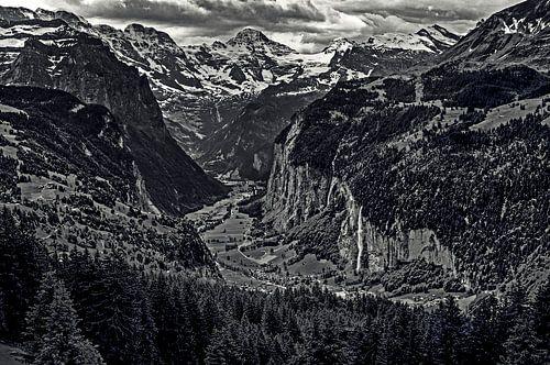 Lauterbrunnen valley von Wouter Sikkema