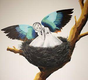 Vogelmeisje van Petra Kaindel