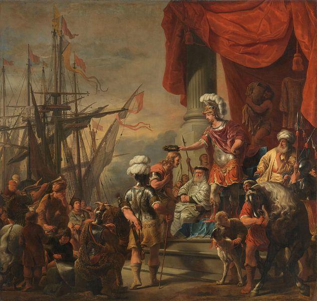 Aeneas bij Latinus, Ferdinand Bol