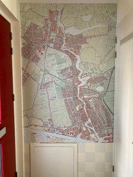 Klantfoto: Kaart vanZaanstad