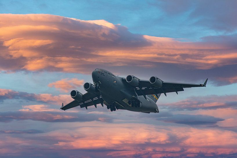 Lockheed C-5M Super Galaxy van Brian Morgan