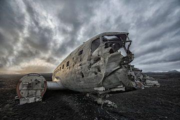 DC-3,Sólheimasandur,IJsland von Tilly Meijer