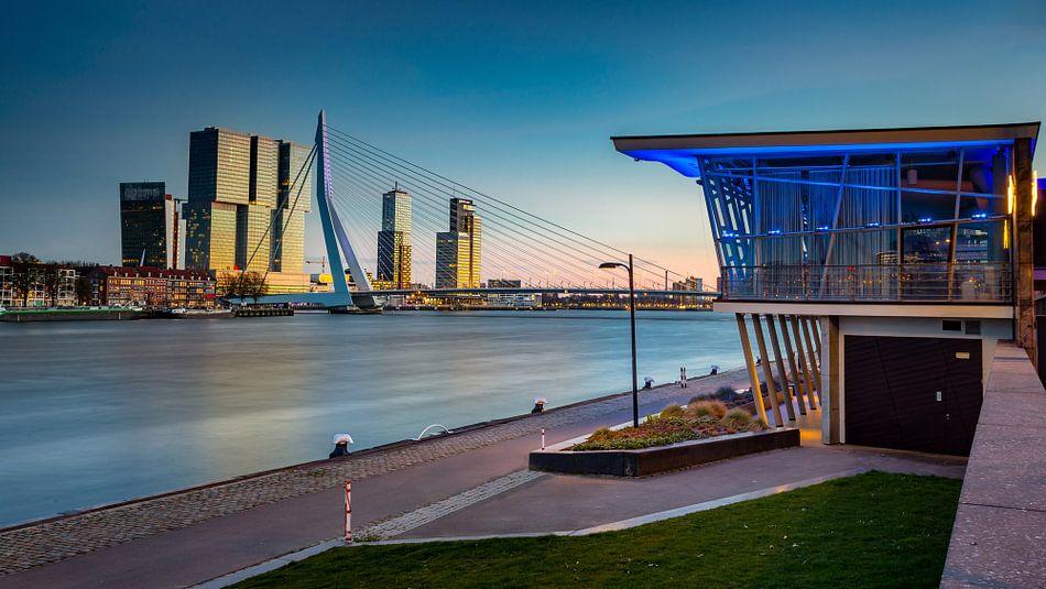 Skyline Rotterdam van Martijn van Dellen