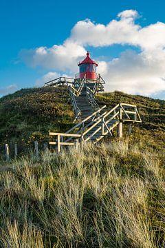 Leuchtturm in Norddorf auf der Insel Amrum von Rico Ködder