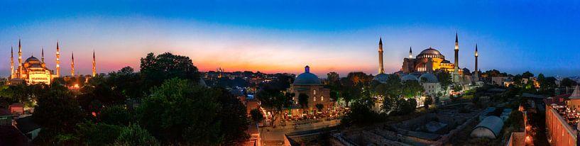 Istanboel panorama van Roy Poots