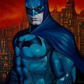 Peinture Batman 3 sur Paul Meijering