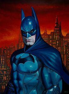 Batman 3 Schilderij