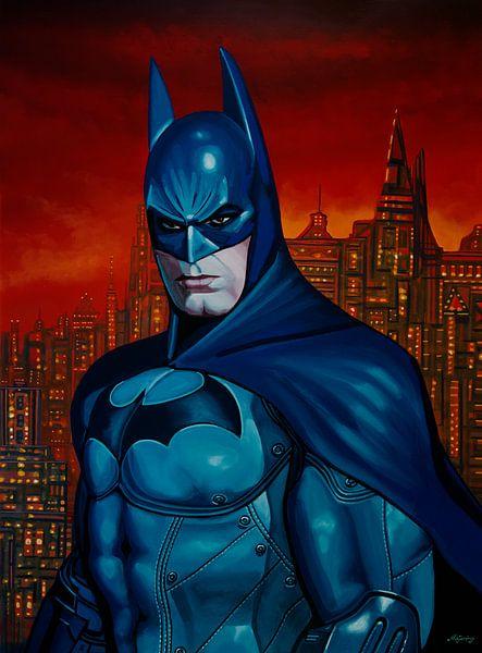 Batman 3 Schilderij van Paul Meijering