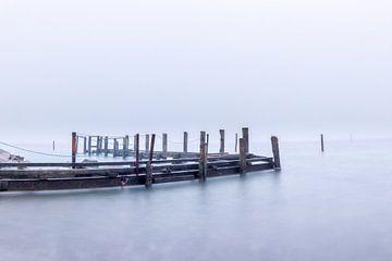 Alter Steg im Nebel von Tilo Grellmann | Photography