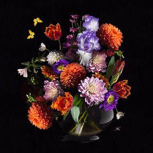 Royal Dutch Bloemstilleven van Sander Van Laar