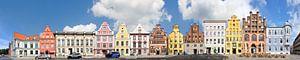 Stralsund | Alter Markt et Mühlenstrasse sur Panorama Streetline