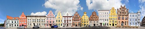 Stralsund   Alter Markt und Mühlenstrasse