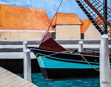 Terschelling Ouest sur Antonie van Gelder Beeldend kunstenaar