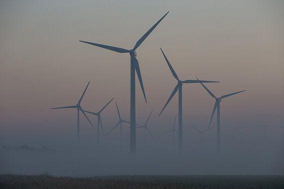 windmolenpark - windenergie sfeeropname