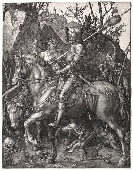 Ridder, de Dood en de Duivel van De Canon