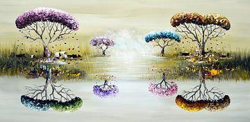 Jahreszeiten von Gena Theheartofart