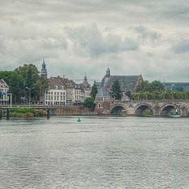 Maastricht en Sint Servaasbrug van Rob van der Pijll