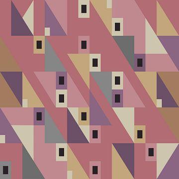 FAS series geometrische vormen IV van Anna Marie de Klerk