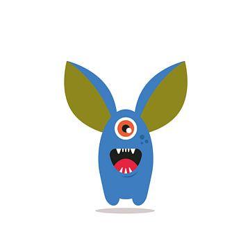 Monster Illustratie Y van SuparDisign