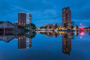 Groningen Zuiderhaven @ blue hour van
