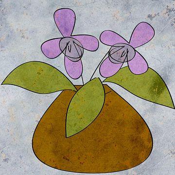 Bloemenvaas van Kay Weber