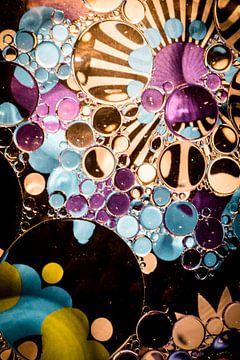 Purpleblue bubbles