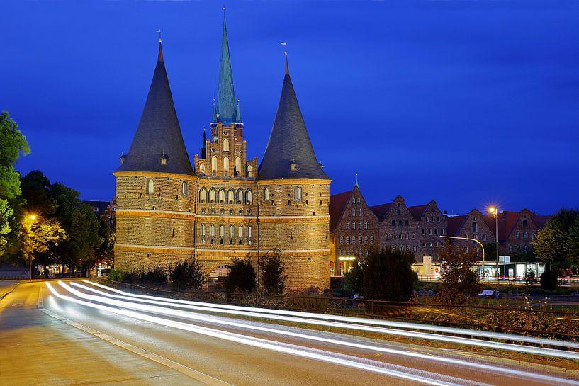Hostentor Lübeck van Patrick Lohmüller